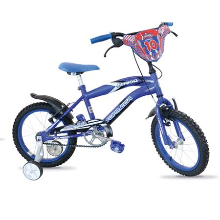 "BICICLETA TOPMEGA CROSS 12"" VARON JUNIOR AZUL 321013AZU"