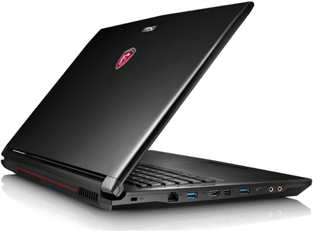 "NOTEBOOK MSI GL72 7RDX 17.3"" CORE I7 8GB 1TB GTX1050"